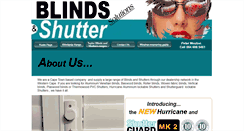 Preview of blindsandshuttersolutions.co.za